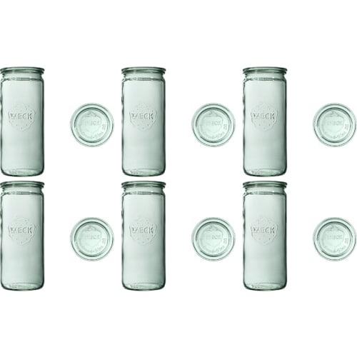 Słoik cylindryczny z pokrywką 1040 ml WECK op. 6 szt.