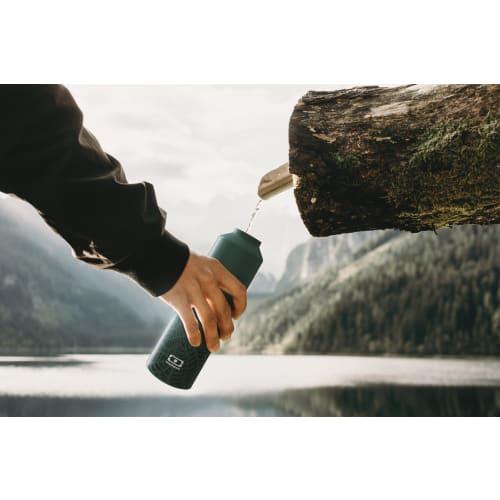 MonBento Butelka termiczna, bidon z zaparzaczem 0,5l Jungle