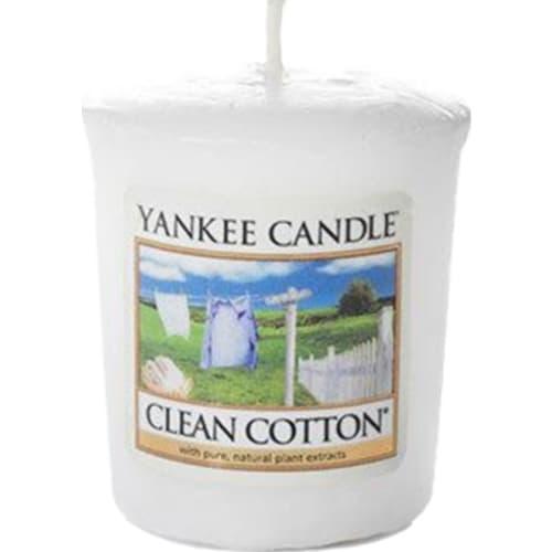Świeca Zapachowa Clean Cotton Votive Yankee Candle