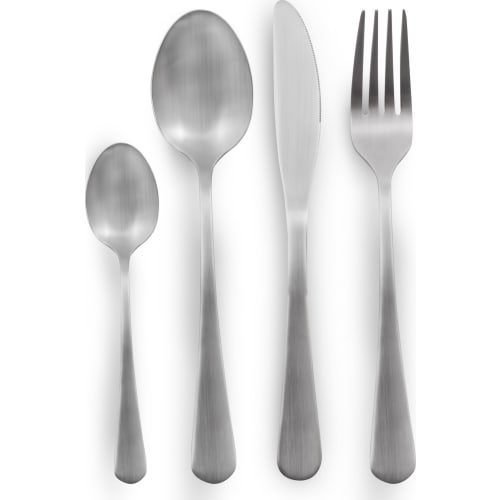 Nóż obiadowy matowy - Paros