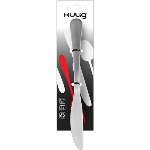 Zestaw trzech matowych noży z zawieszką - Paros