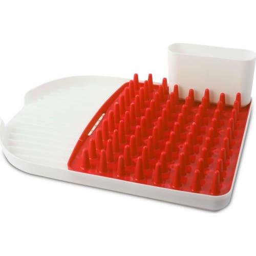 Ociekacz na naczynia Colori czerwony Vialli Design