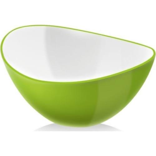 Miska Livio owalna zielona 25 cm Vialli Design