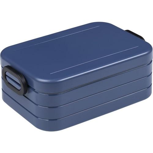Mepal Lunchbox z widelczykiem Take a Break - Nordic Denim