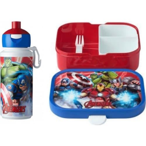 Rosti Mepal Zestaw lunchbox i butelka dla dzieci Avengers