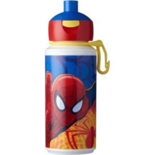 Mepal Butelka szkolna dla dzieci pop-up Spiderman