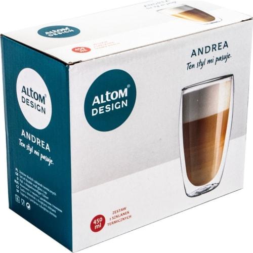 Szklanki termiczne 450 ml (2 sztuki) Andrea Altom Design