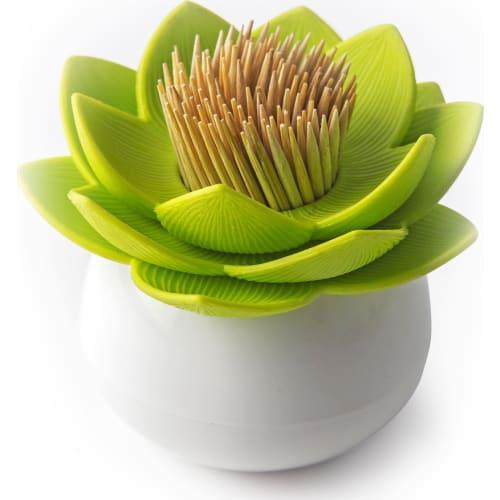 Pojemnik na Wykałaczki Lotus Zielony