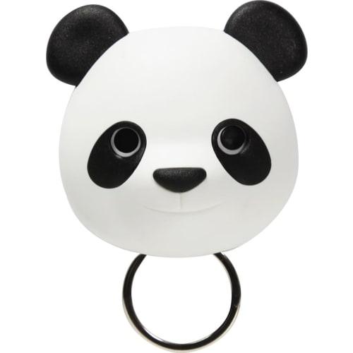Wieszak na klucze Panda czarno-biały