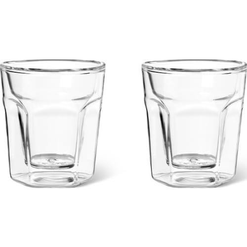 Zestaw dwóch szklanek termicznych do espresso z podwójną ścianką 100ml Leopold Vienna