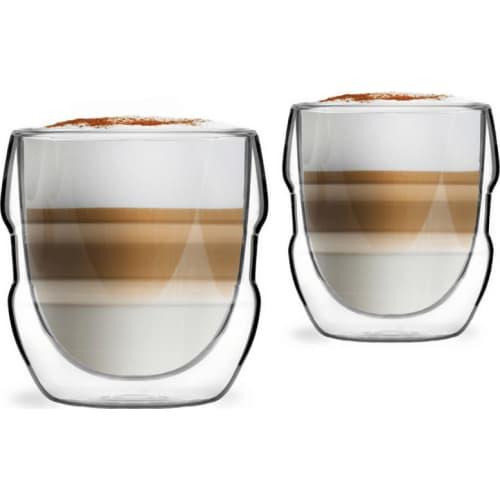 2 szklanki z podwójną ścianką 250ml Sferico Vialli Design