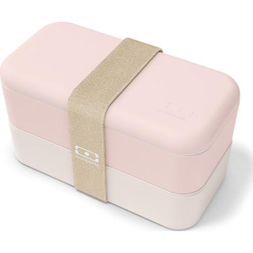 Bento box MonBento Original, Natural pink