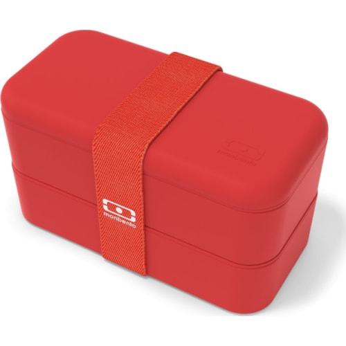 Bento box MonBento Original, Podium red