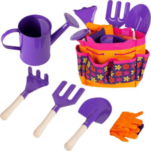 Zestaw narzędzi ogrodowych, do piaskownicy dla dzieci 6 elementów