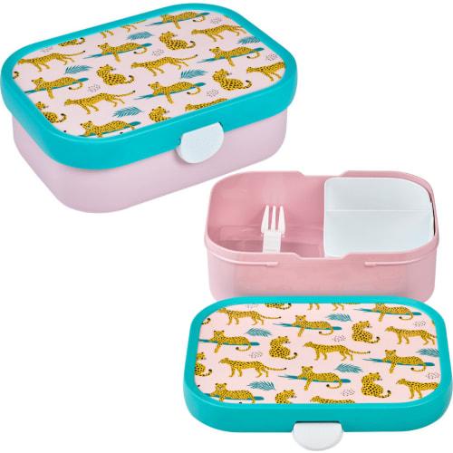 Lunchbox Dziecięcy Pojemnik Pudełko Na Drugie Śniadanie Leopard Campus Mepal