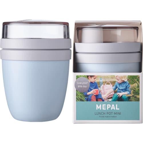 Szczelny lunchpot lunchbox na drugie śniadanie Nordic Blue Ellipse Mini Mepal