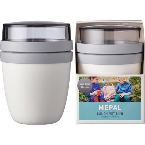 Szczelny lunchpot lunchbox na drugie śniadanie White Ellipse Mini Mepal