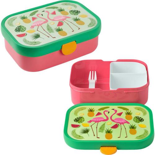 Lunchbox Dziecięcy Pojemnik Pudełko Na Drugie Śniadanie Campus Tropical Flamingo Mepal