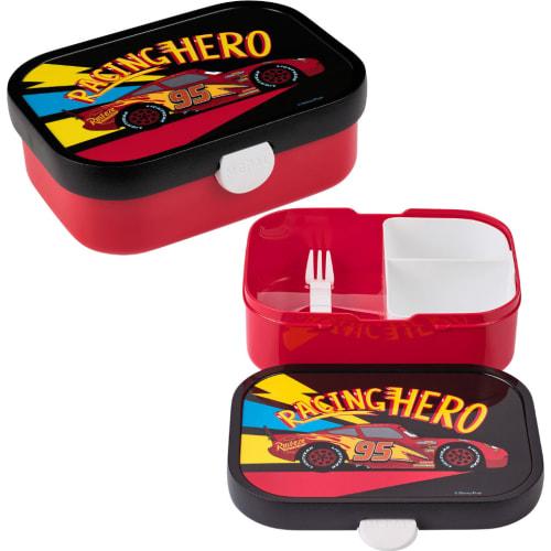 Lunchbox Dziecięcy Pojemnik Pudełko Na Drugie Śniadanie Campus Cars go Mepal