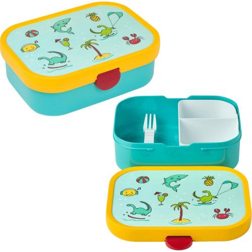 Lunchbox Dziecięcy Pojemnik Pudełko Na Drugie Śniadanie Campus Doodle Mepal