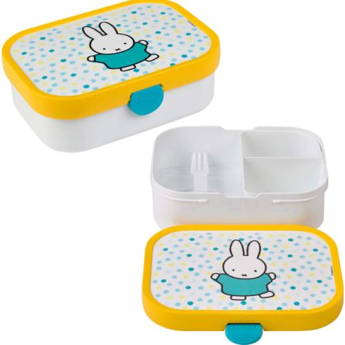 Lunchbox Dziecięcy Pojemnik Pudełko Na Drugie Śniadanie Campus Miffy Confetti Mepal