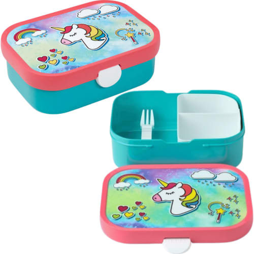 Lunchbox Dziecięcy Pojemnik Pudełko Na Drugie Śniadanie Campus Unicorn Mepal