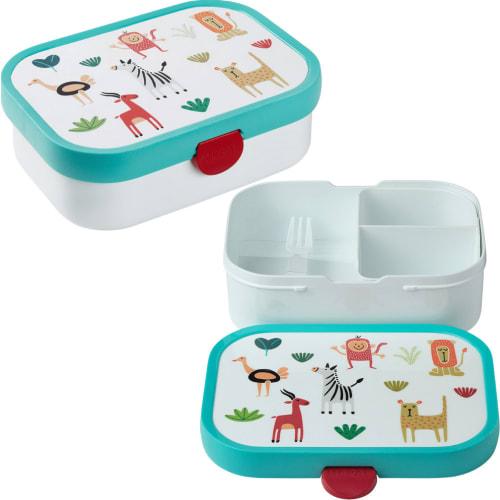 Lunchbox Dziecięcy Pojemnik Pudełko Na Drugie Śniadanie Campus Animal Friends Mepal