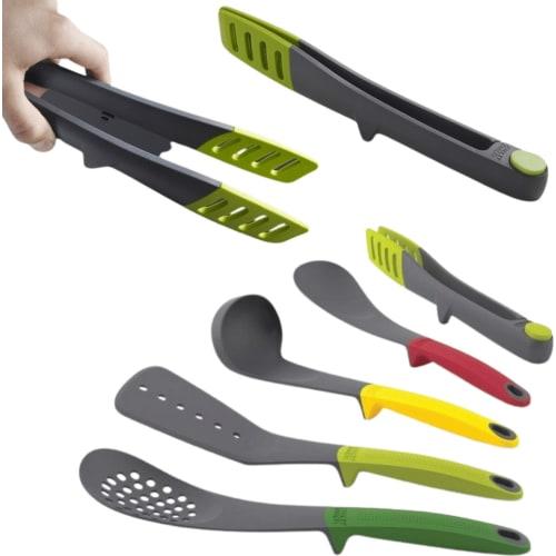 Zestaw narzędzi kuchennych ze szczypcami JOSEPH JOSEPH