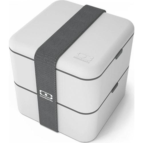 MonBento Bento Box 2w1 MB Square cotton