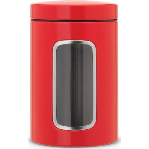BRABANTIA - Pojemnik z okienkiem 1,4l - czerwony passion