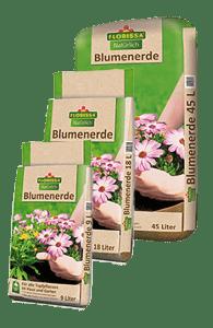 Blumenerde 9L, 18L, 45L