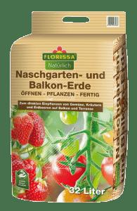 Naschgarten u. Balkonerde 32 Liter