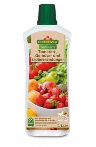 Tomaten- Gemüse und Erdbeerdünger 1L