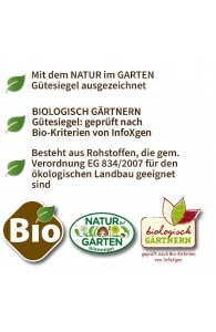 Bio Aktiv Rasendünger 5kg + 15kg