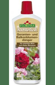 Geranien u. Balkonblumendünger 1 Liter