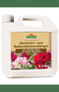 Geranien u. Balkonblumendünger 3 Liter