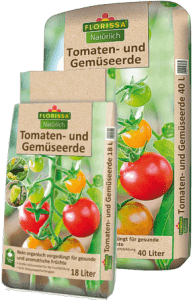 Tomaten und Gemüseerde