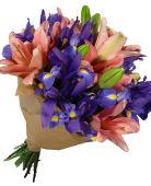 Lilies and Iris