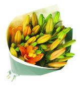Orange Lily bunch
