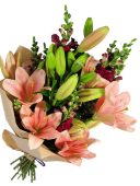Snapdragons and Lilies