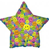 Smiley Face Star