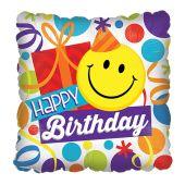 Happy Birthday - Smiley face