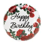 Happy Birthday - Red Rose