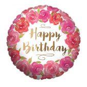Happy Birthday - Gold