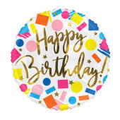 Happy Birthday - Confetti