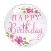 Happy Birthday - Satin