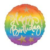 Happy Birthday Ombre