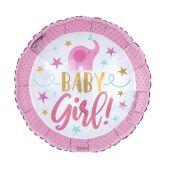 Baby Girl! - Pink Elephant