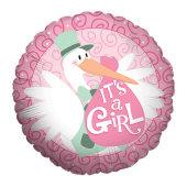 Baby Girl - Stork
