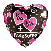 You + Me = Awesome balloon